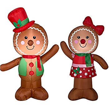 350x350 Airblown Inflatable Outdoor Christmas Characters