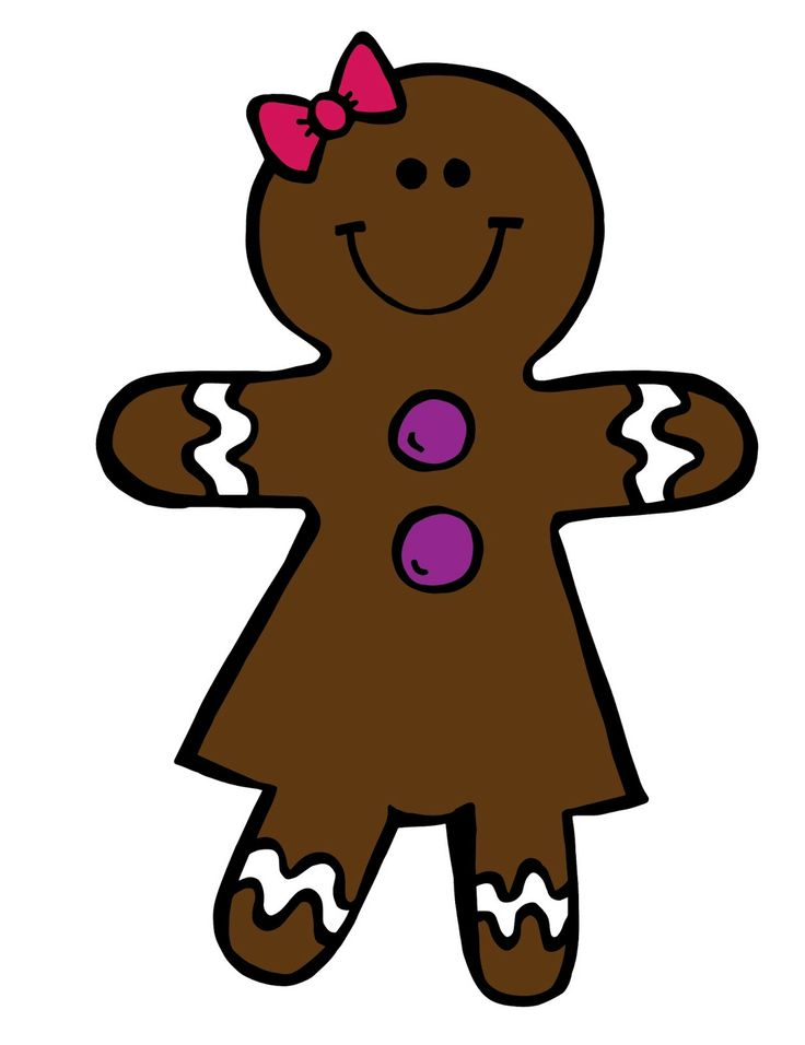 736x956 Free Gingerbread Man Cliparts