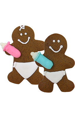 255x400 How To Decorate Gingerbread Man Cookies