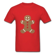 190x190 Shop Gingerbread Man T Shirts Online Spreadshirt