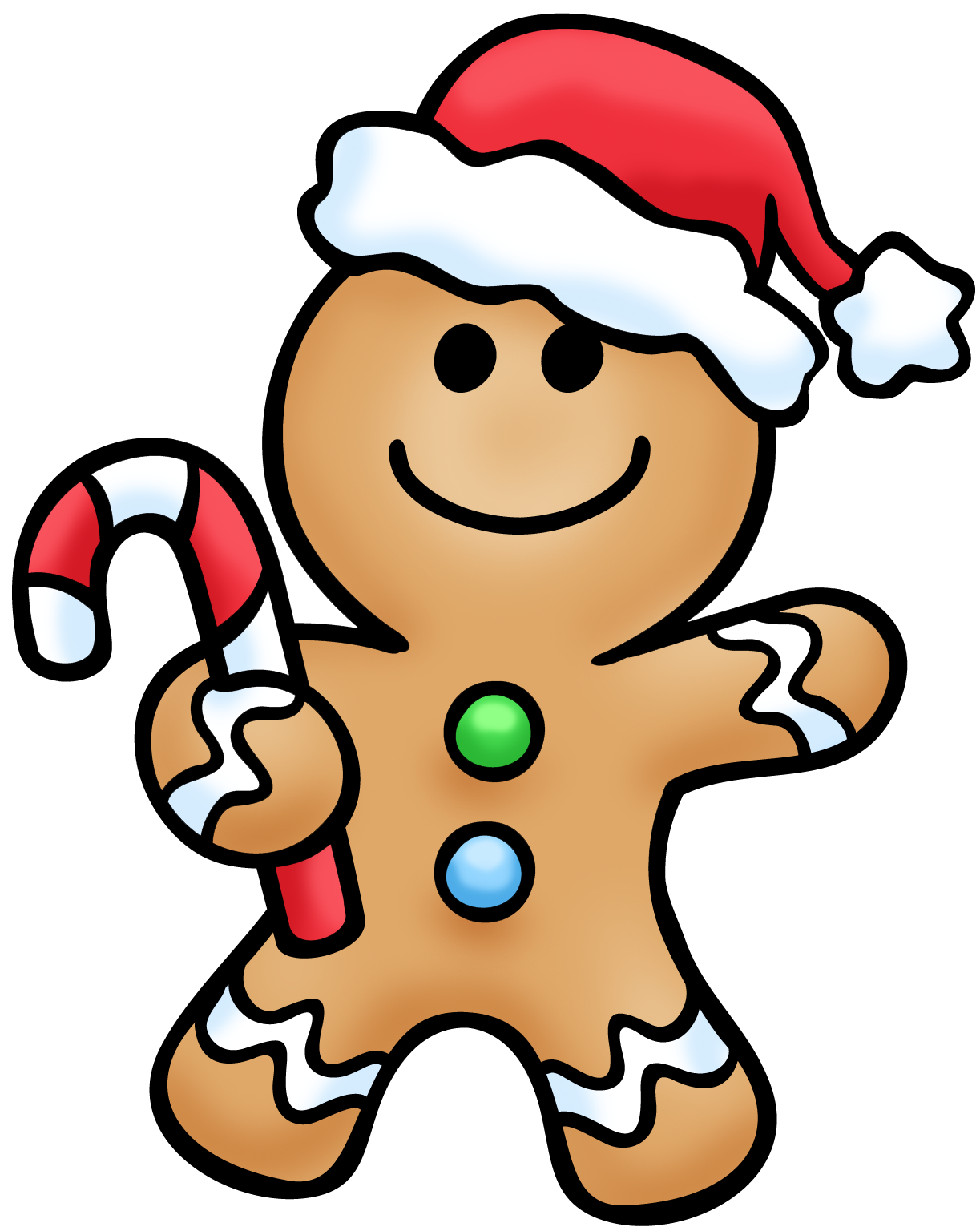 1223x1536 Gingerbread Man Clip Art Images Illustrations Photos