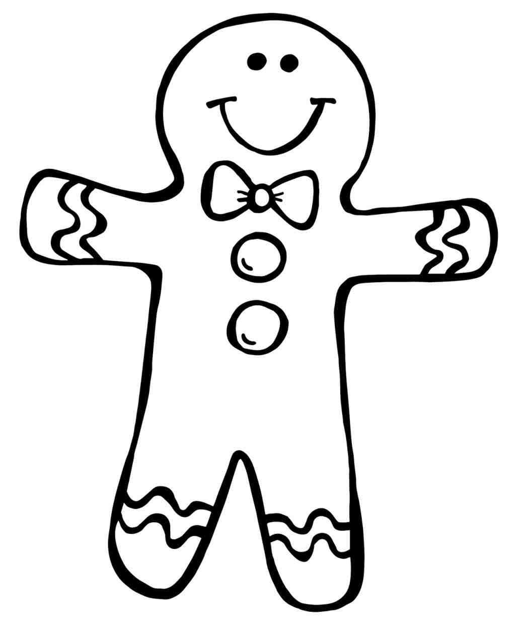 1037x1264 Christmas Gingerbread Man Clipart Chemineewebsite