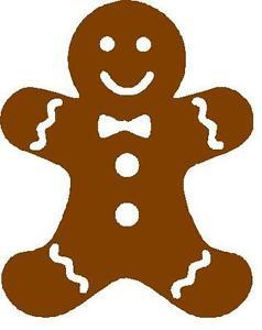 238x300 Coroplast Gingerbread Man Shape Sign Choose Size Amp Color Ebay