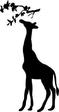 236x445 Free Giraffe Clip Art Image Silhouette Of A Giraffe In Africa