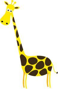 195x299 Giraffe Clip Art Giraffe Clip Art Royalty Free Animal Images