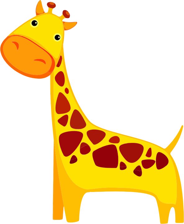 592x721 Giraffe Free To Use Clipart 2