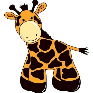 300x300 Baby giraffe clipart free clip art images image 5 2