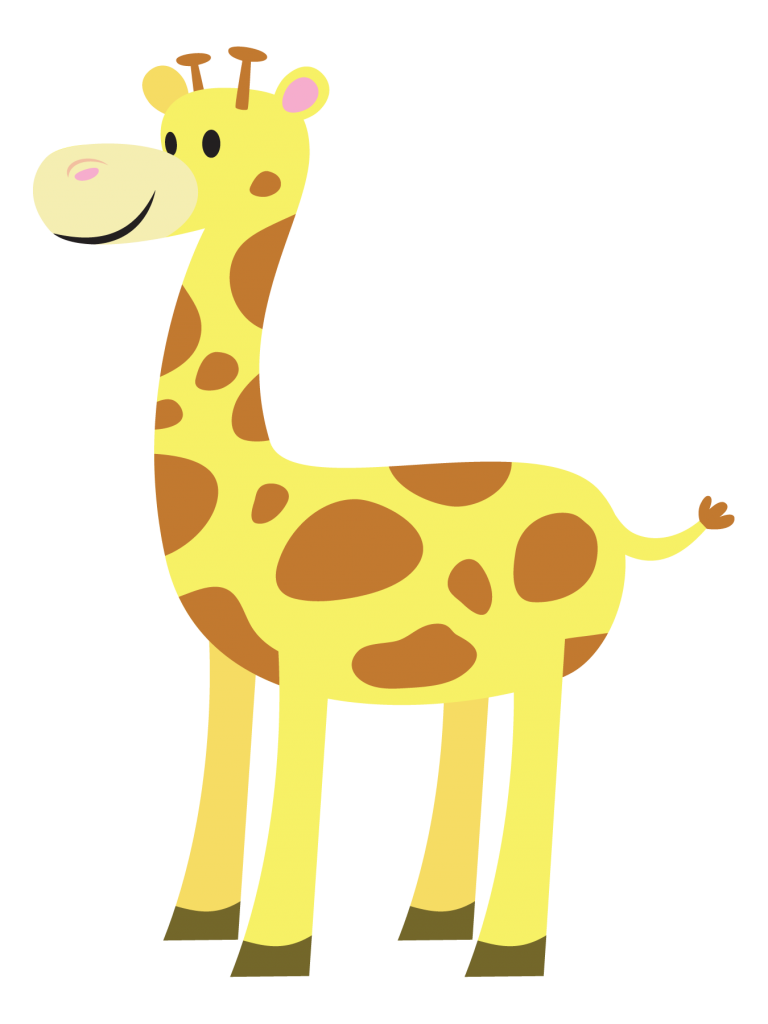 768x1024 Majestic Looking Giraffe Clip Art Clipart Panda Free Images