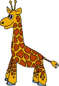 236x342 Cartoon Giraffe