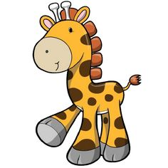 236x236 Cute Baby Giraffe Cartoon Here Here Is A Baby Giraffe As Part
