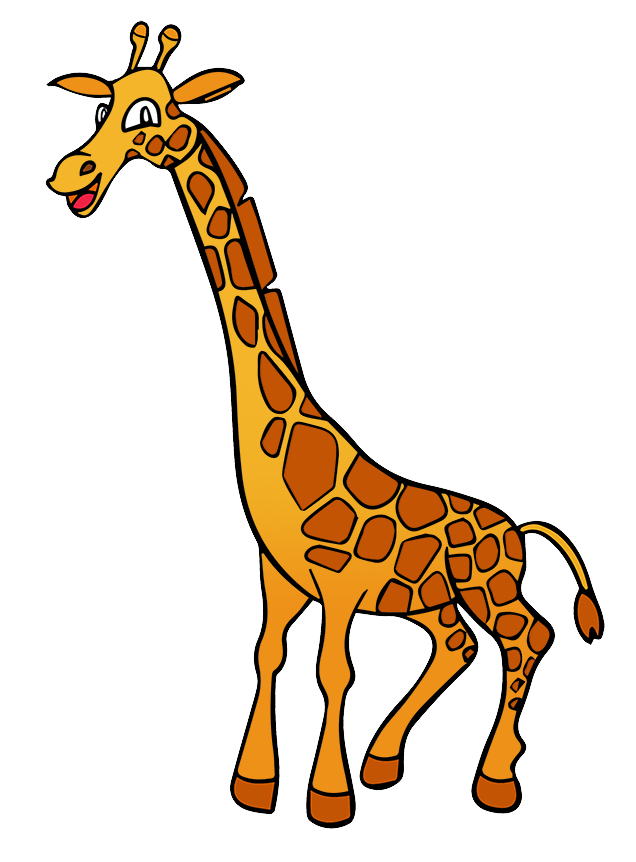 636x862 Giraffe Free To Use Clipart