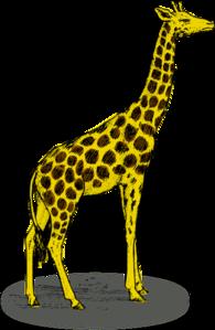 195x299 Giraffe Clip Art