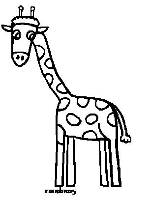 305x407 Giraffe Line Drawing Free Download Clip Art Free Clip Art