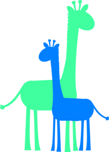213x297 Birthday Boy Giraffes Clip Art