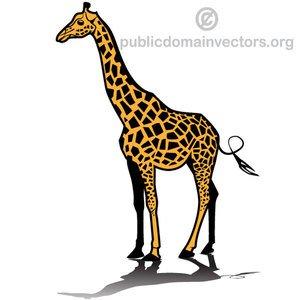 Giraffe Clipart Outline