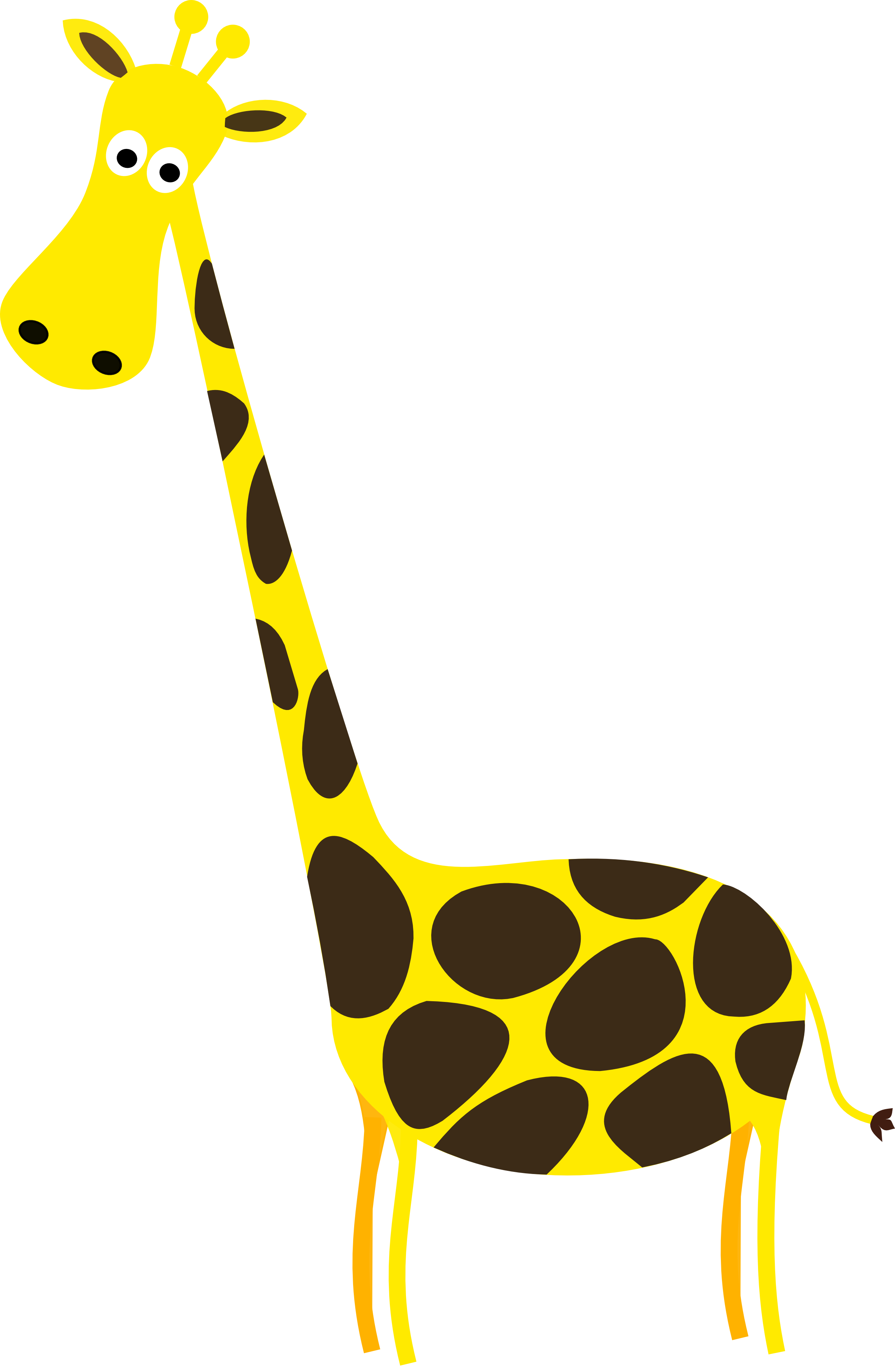 2555x3915 Giraffe Clip Art Pictures Free Clipart Images