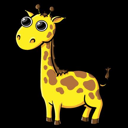 432x432 Giraffes Clipart