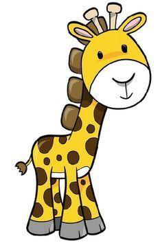 236x354 Simple Giraffe Outline Giraffe cartoon Applique