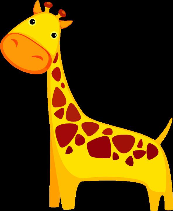 592x721 Top 91 Giraffe Clipart