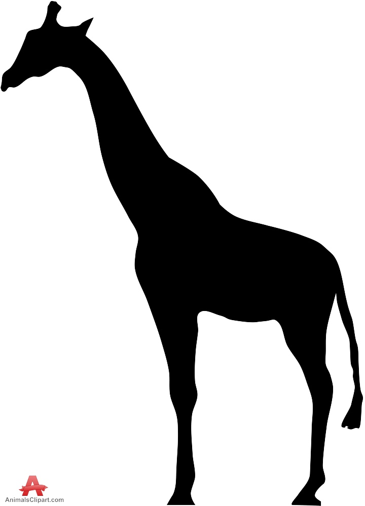 720x999 Giraffe Silhouette Clip Art Many Interesting Cliparts