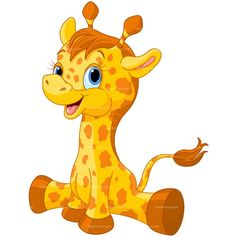 236x236 Cute Giraffe Cartoon Stock Vector Giraffes Giraffe
