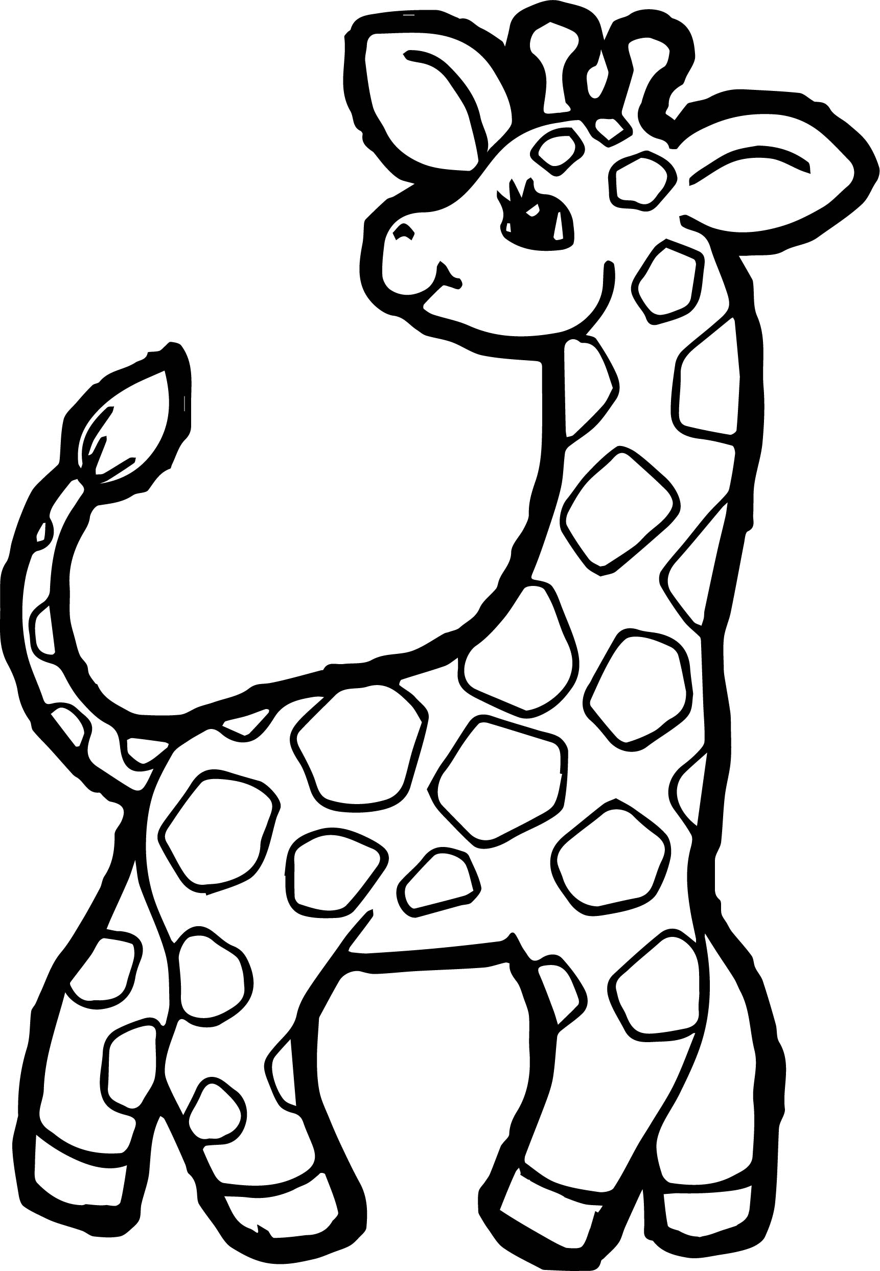 Giraffe Coloring Pages | Free download on ClipArtMag
