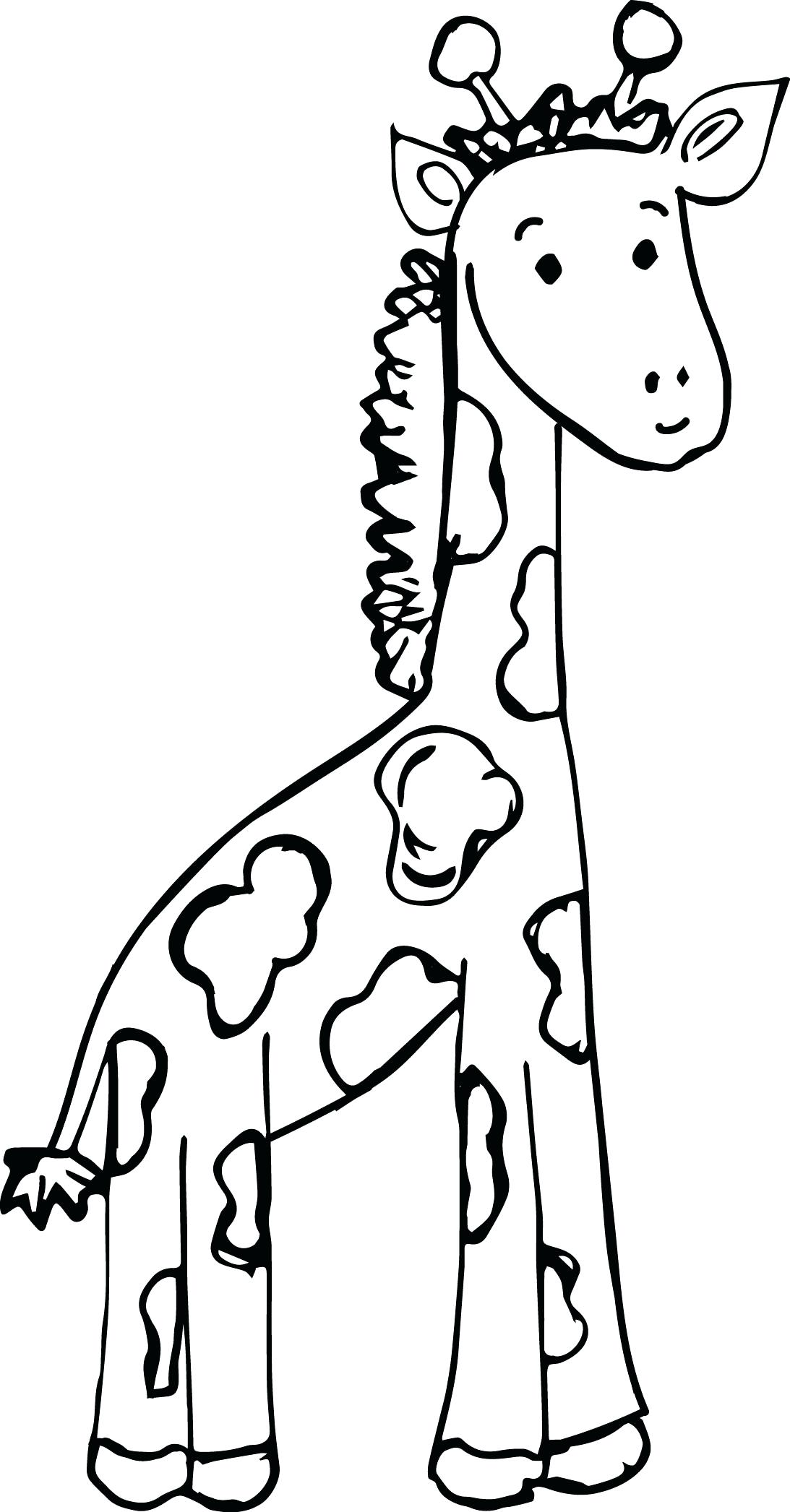 1093x2093 Staying Giraffe Coloring Page 48 Extraordinary Book Picture