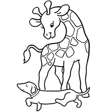 230x230 Top 20 Free Printable Giraffe Coloring Pages Online