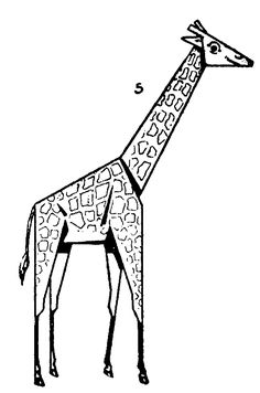 236x356 How To Draw Cartoon Giraffes Step By Step Drawing Tutorial Art