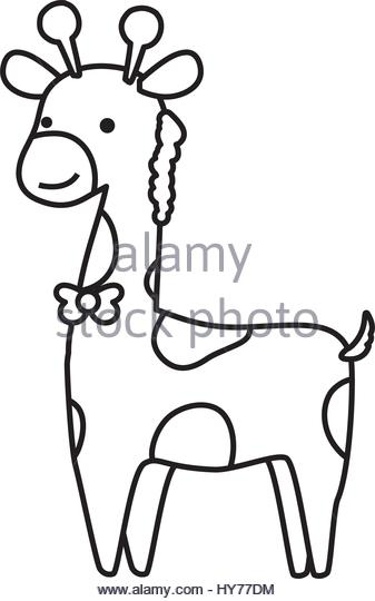 337x540 Cartoon Giraffe Black And White Stock Photos Amp Images