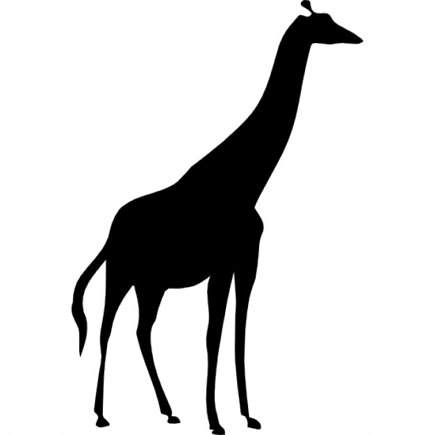 626x626 Giraffe Silhouette Icons Free Download