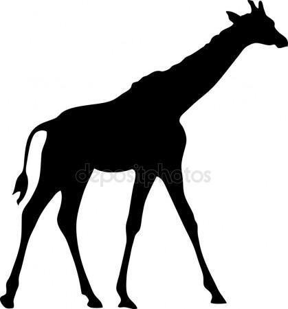 419x450 Giraffe Silhouette Stock Vectors, Royalty Free Giraffe Silhouette