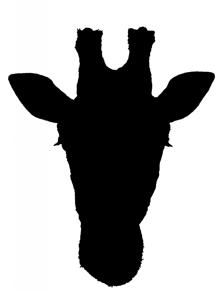 785x1024 Best Giraffe Silhouette