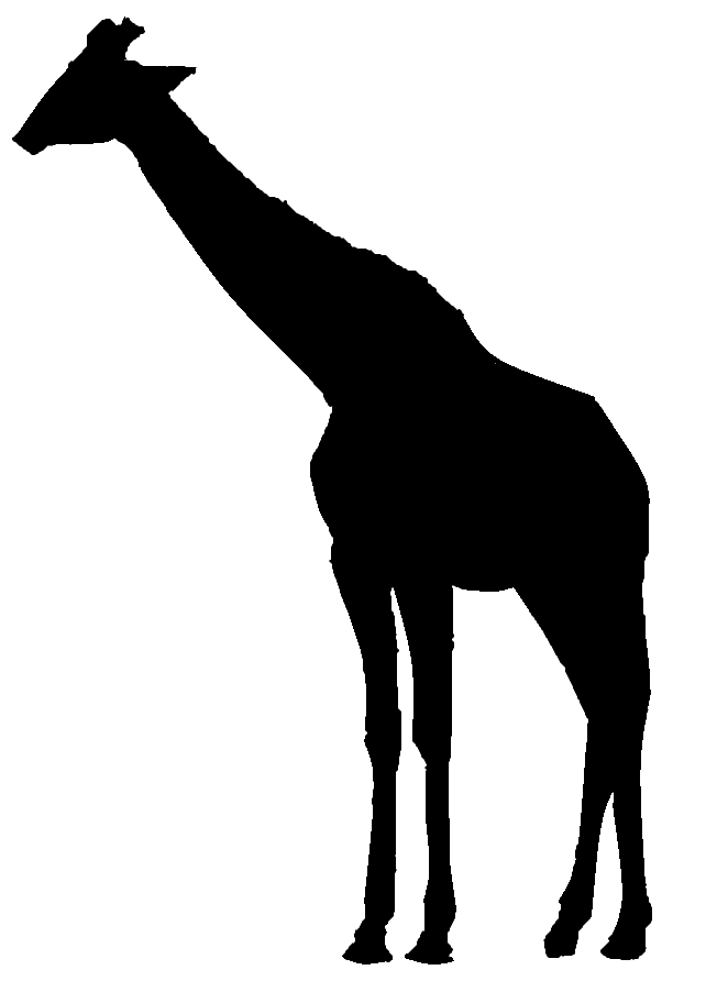 662x902 Graphics For Giraffe Silhouette Graphics