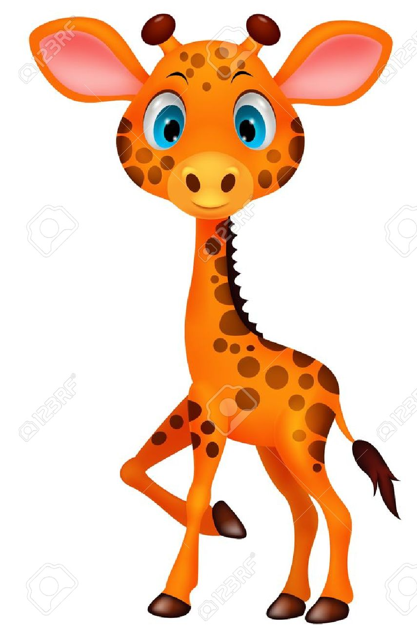 Giraffe Silhouette Clipart