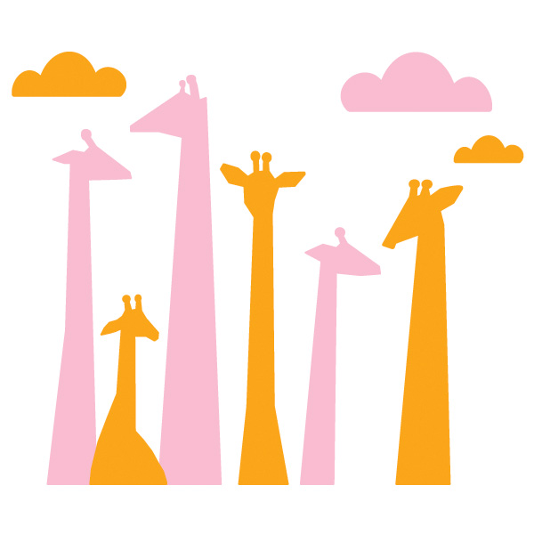 600x600 Giraffe Clipart Head And Neck