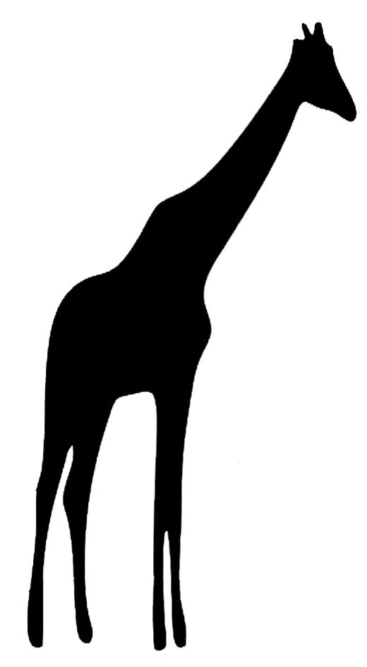 520x945 Animal Silhouette, Silhouette Clip Art