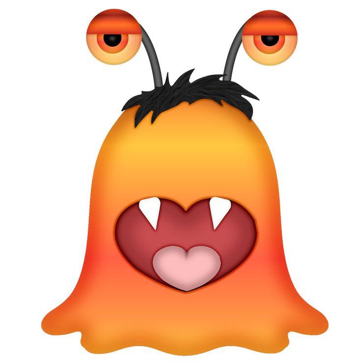 736x736 Alien Clipart Orange Alien