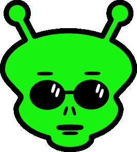 Girl Alien Cliparts