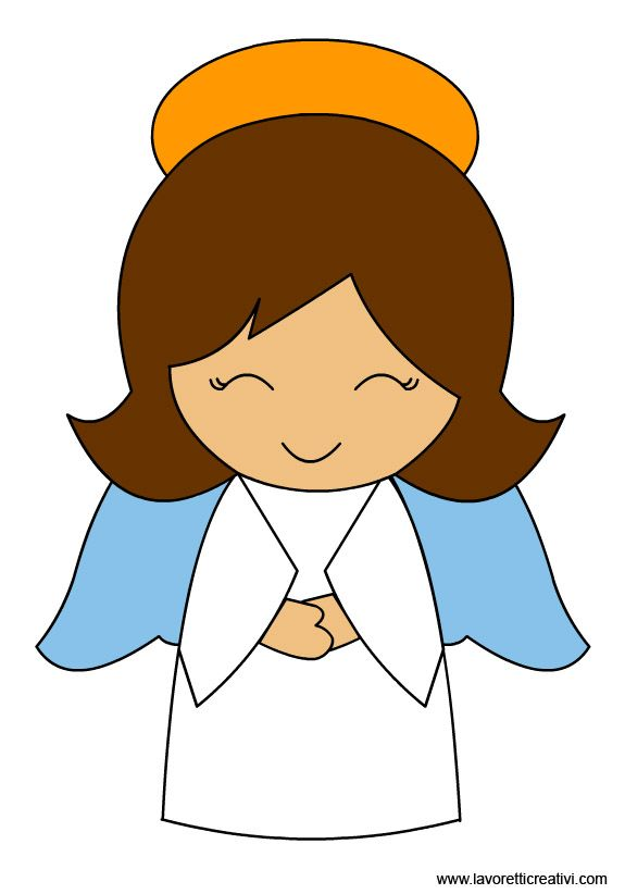 angel clipart clip angels christmas guardian simple cliparts cute angell dibujos felt nativity graphics getdrawings ангели applique clipartmag religious ornaments
