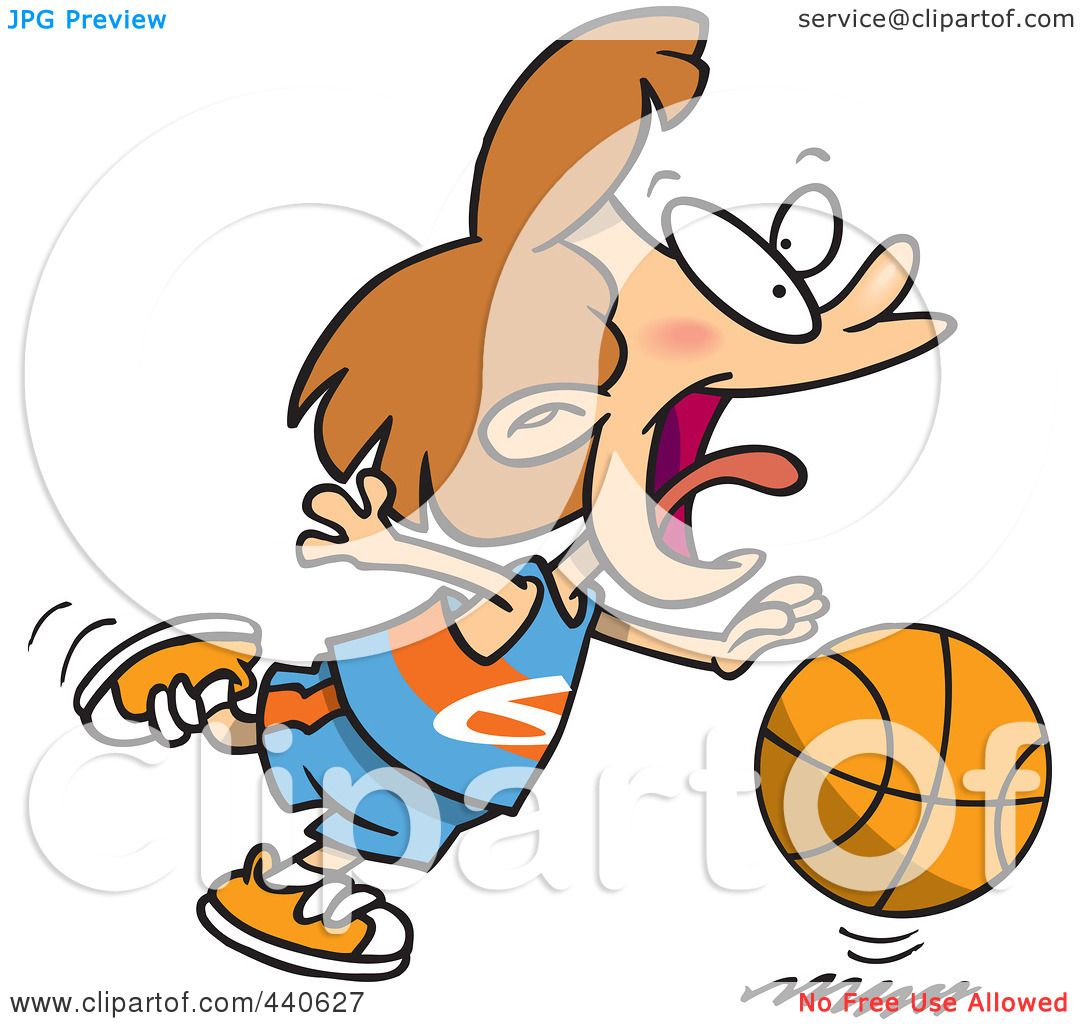 1080x1024 Royalty Free (Rf) Clip Art Illustration Of A Cartoon Basketball