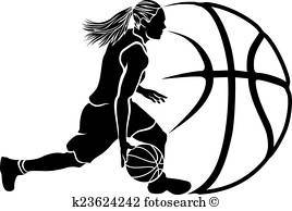 268x194 Basketball Girl Clip Art Illustrations. 1,051 Basketball Girl