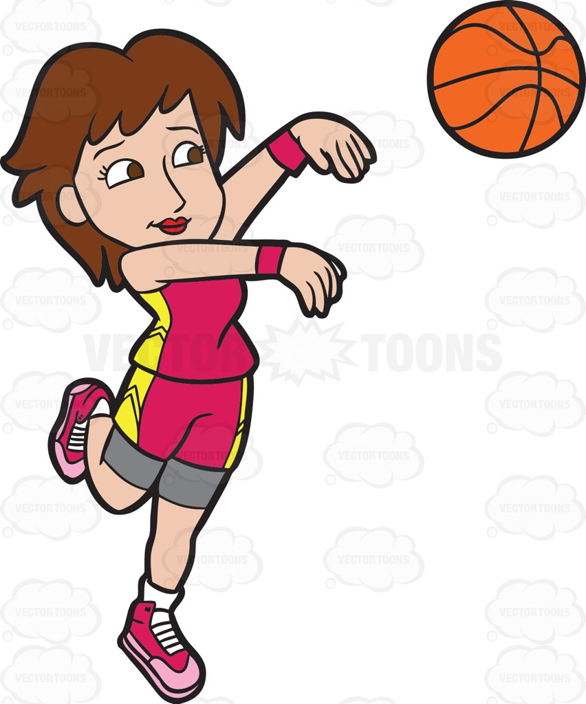 852x1024 Clipart Of Women Playing Sports