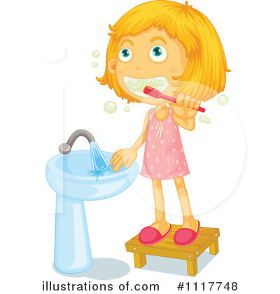 400x420 Brushing Teeth Clipart