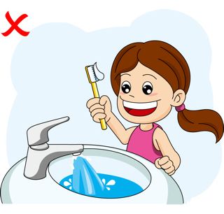320x306 Water Brushing Teeth Clipart, Explore Pictures