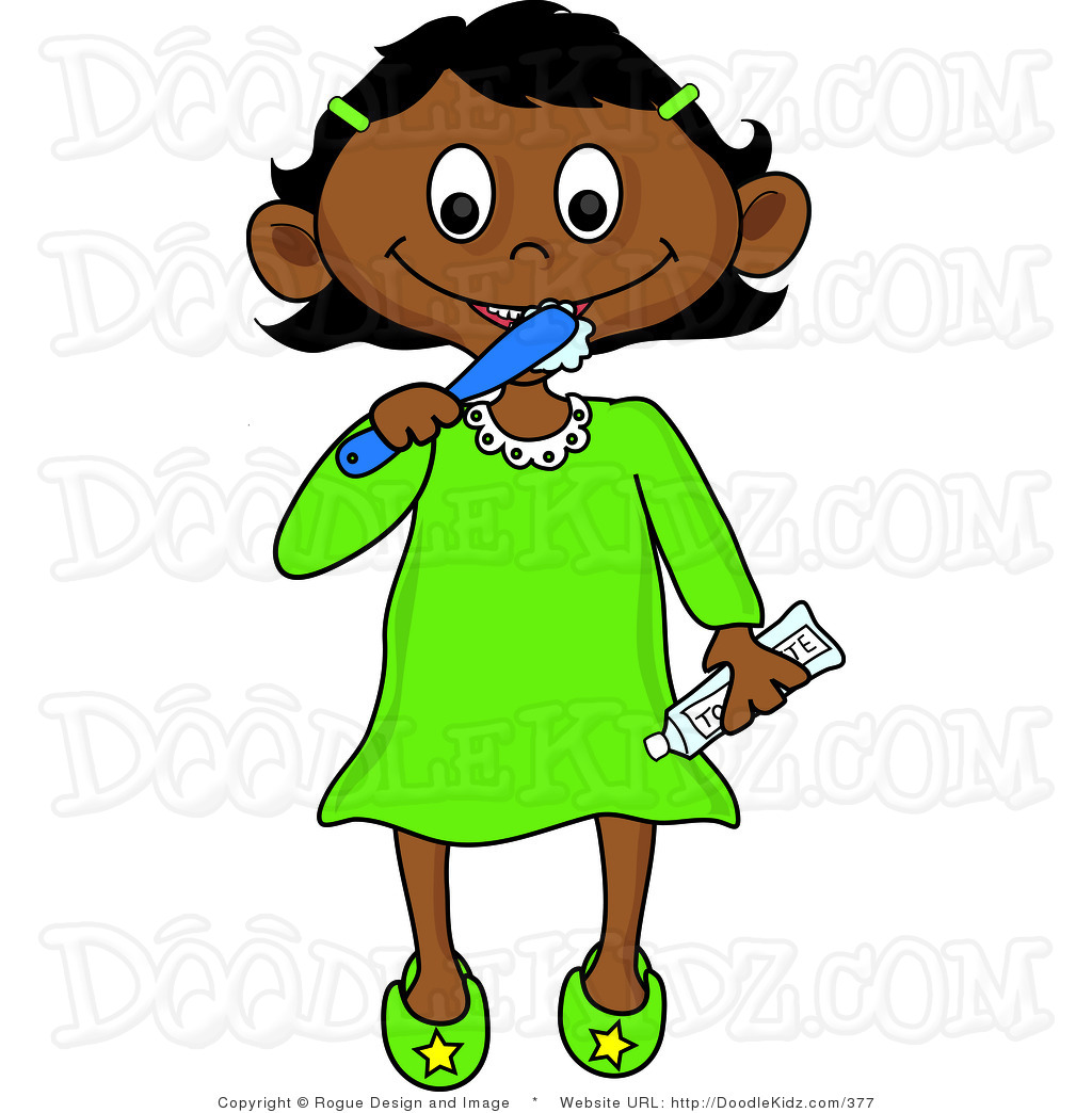 1024x1044 Bedtime Clipart Clip Art Illustration Of A Little Mexican Girl