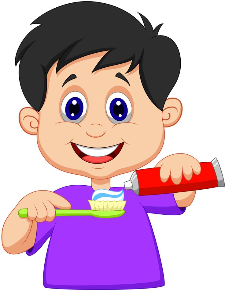 736x950 Brush Clipart Boy