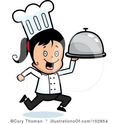 400x420 Female Chef Clipart