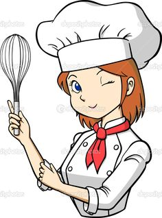 236x318 Chef Cooking Cartoon Cartoon Female Chefs Vector Art Download