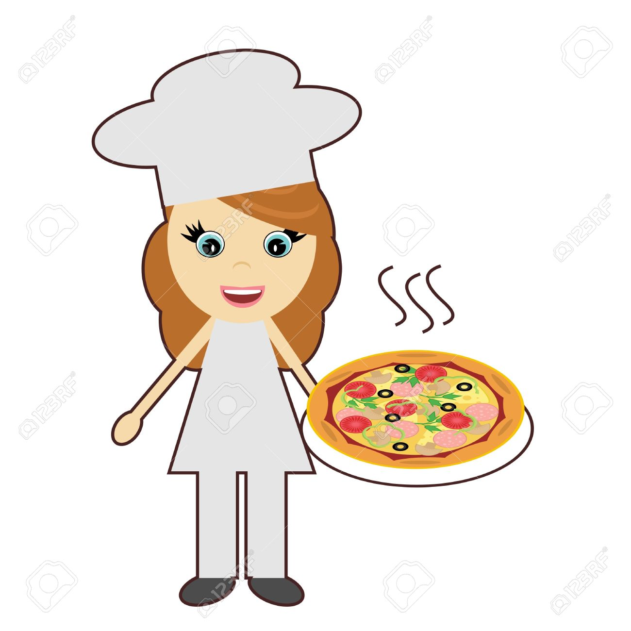 1300x1300 Pizza Clipart Pizza Chef